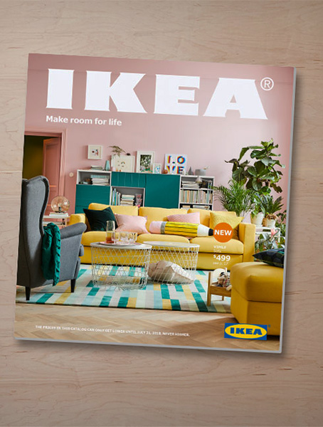 The 2018 IKEA catalogue