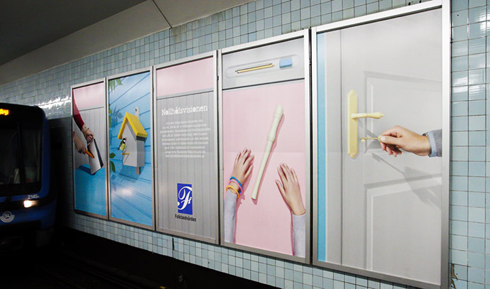 General dentistry campaign by Garbergs.